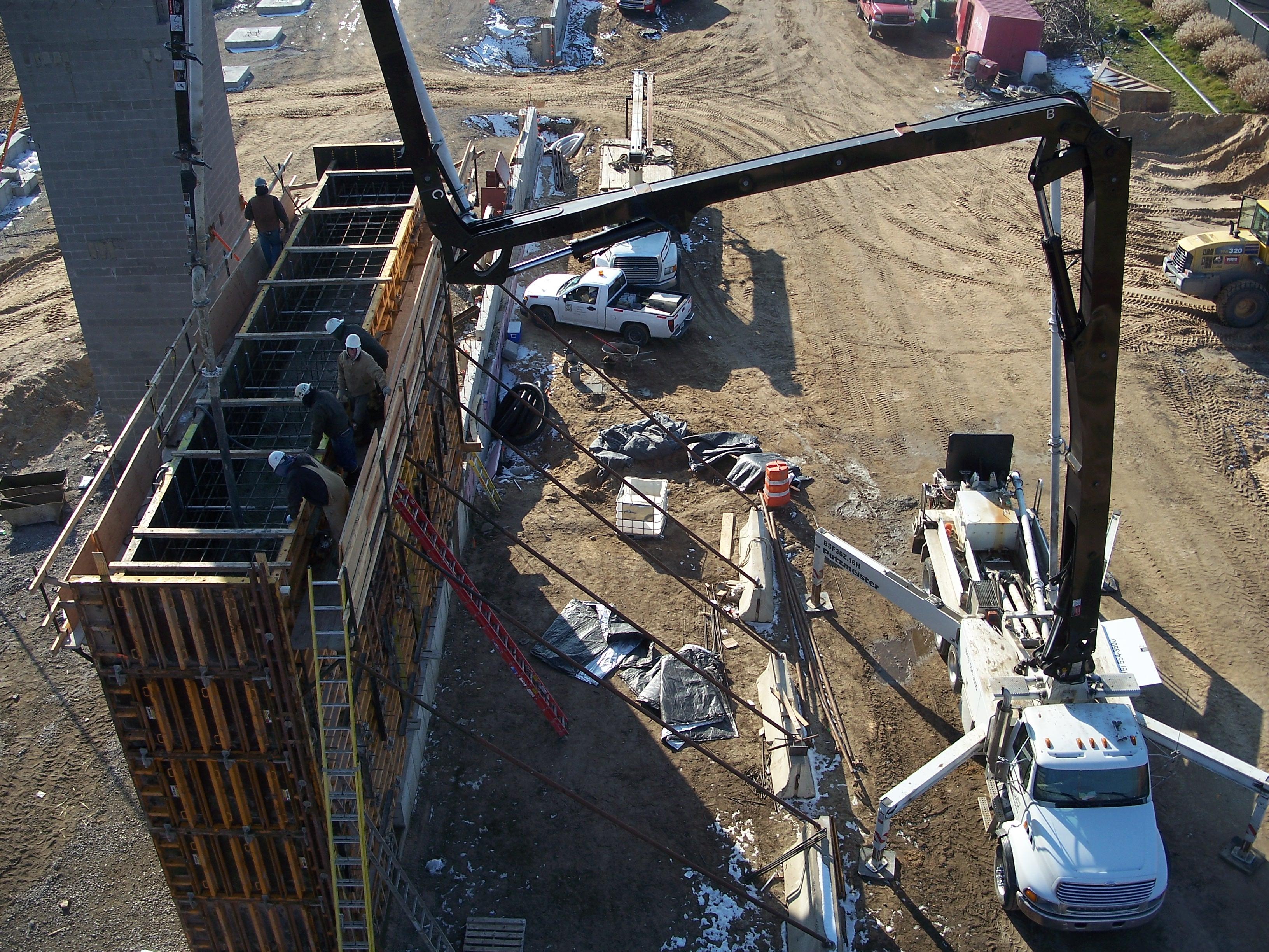 Concrete Pumping Van Laan Construction Supply